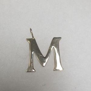 Silpada Large Letter M